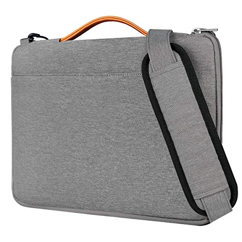 Inateck 14 Inch Laptop Sleeve Case/Shoulder Bag LB1403, Gray