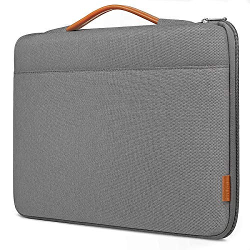 Inateck 12.3-13 Inch MacBook Pro/Air/Surface Pro/Tablet Laptop Sleeve Case LB02003, Dark Gray