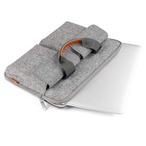 Inateck 13-13.3 Inch Felt Laptop Sleeve Case LB02001, Light Gray