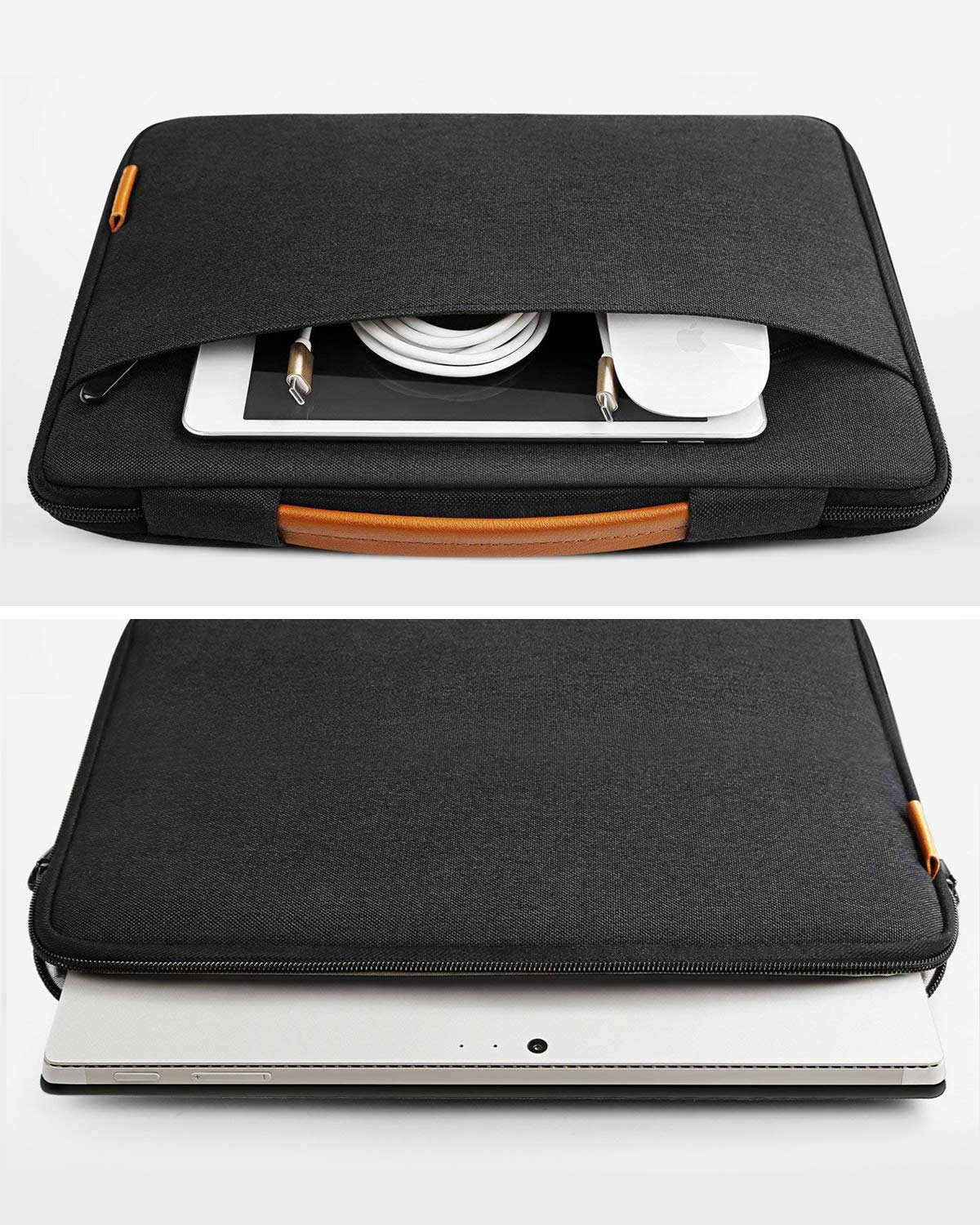 Microsoft Surface Pro X/7/6/5/4/3 Laptop Sleeve Case SP1103, Black - Inateck Backpacks