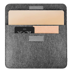 Inateck 12 Inch MacBook Laptop Sleeve  MP1200, Dark Gray