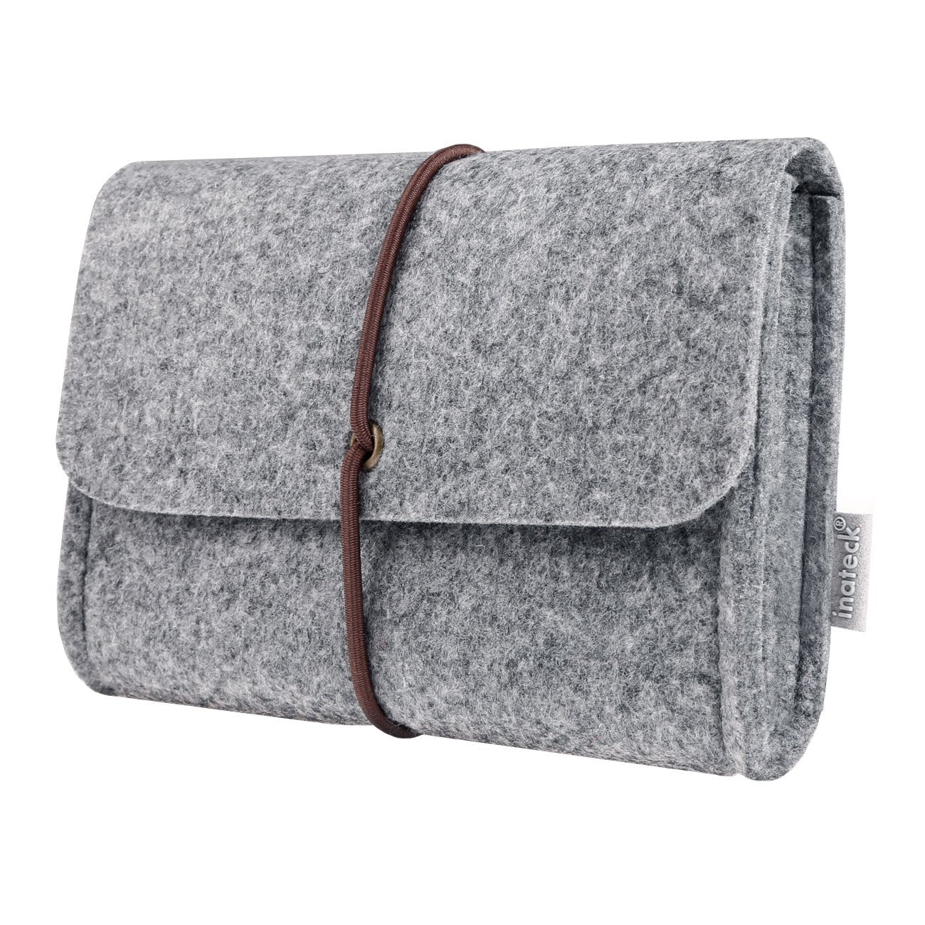 Inateck Felt Storage Pouch Bag MP0601, Light Gray
