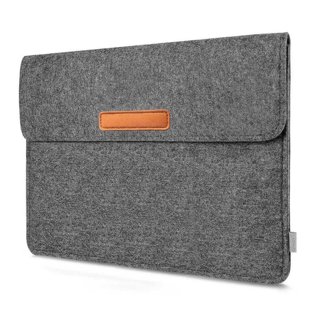 10.5-11 Inch Felt iPad Tablet Sleeve TPB-IP, Dark Gray - Inateck Backpacks