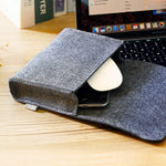 Inateck 15 Inch MacBook Pro Laptop Sleeve  MP1504, Dark Gray