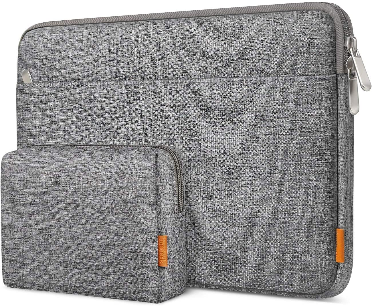 Inateck 13-13.3 Inch Laptop Sleeve with Accessory Pouch LB01005, Gray
