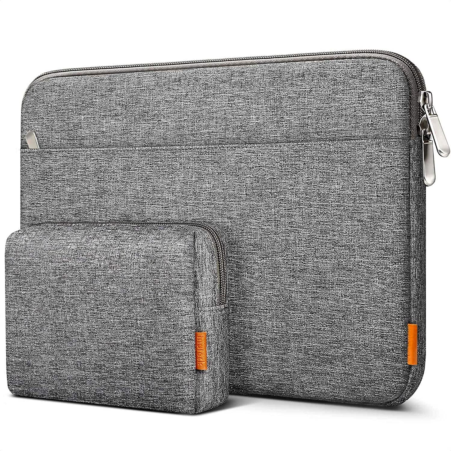 "13-13.5"" Laptop Sleeve Carry Case with Pouch LB01005-13, Gray - Inateck Backpacks"