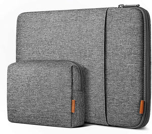 12.3-13 Inch 360° Shockproof Laptop Sleeve Case LB01006-13S, Gray - Inateck Backpacks