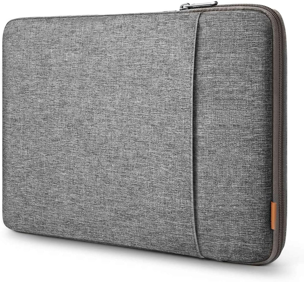 Inateck 13-13.3 Inch 360 Degree Shockproof Laptop Sleeve Case Compatible with MacBook Pro 2012-2015 (A1425/A1502) and MacBook Air 2010-2017(A1369/A1466) LB01006-13, Gray
