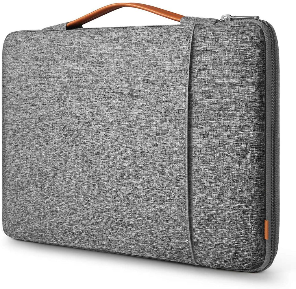 15-15.6 Inch 360 Protection Shockproof Laptop Sleeve Carrying Case Bag Briefcase Compatible with 15.6 HP/Lenovo/Acer/ASUS/Dell Laptops Chromebooks Ultrabooks