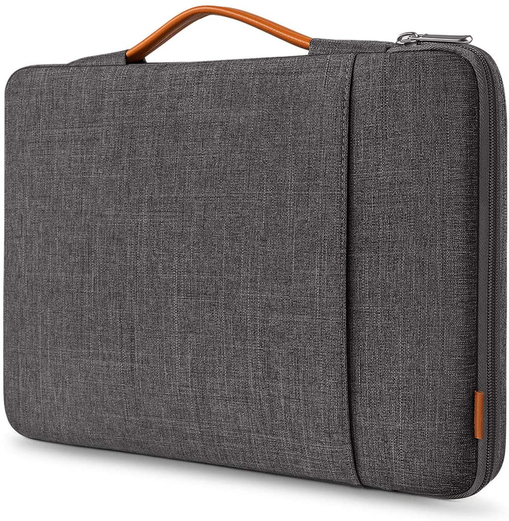 Inateck 13-13.3 Inch Laptop Sleeve Case Compatible with MacBook Pro and Surface Pro LB02006, Dark Gray