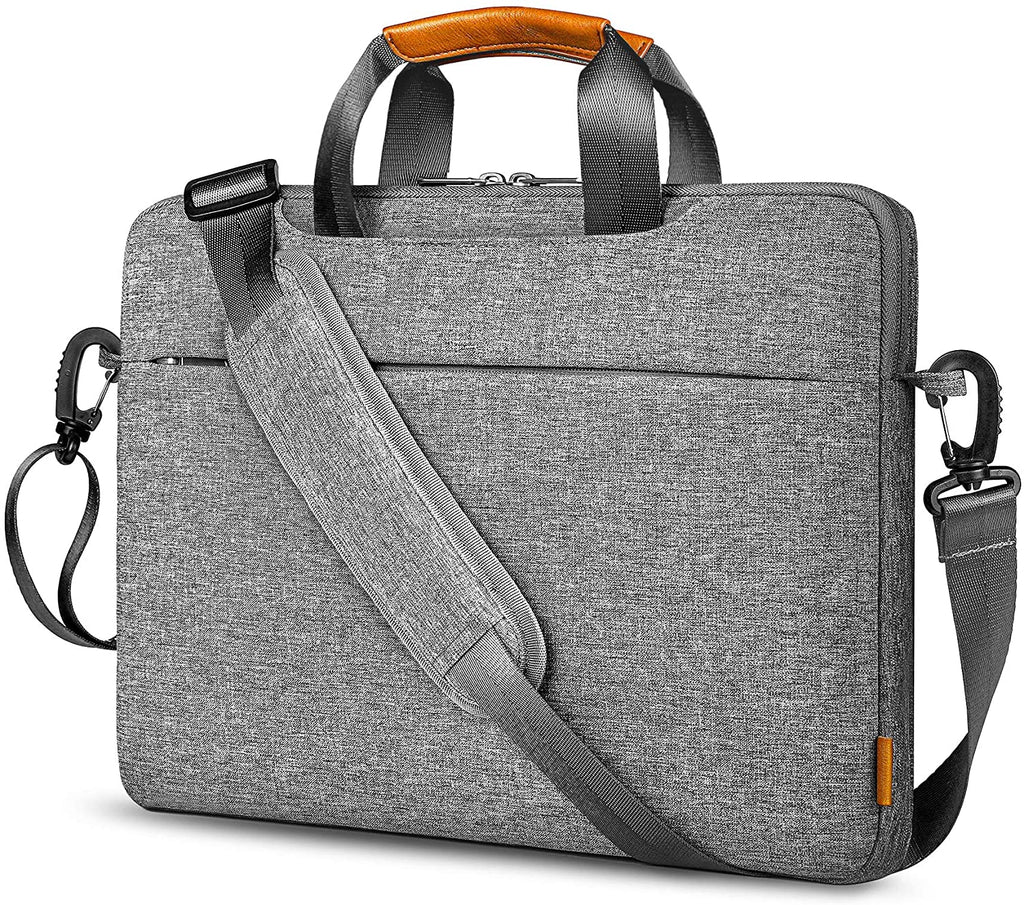 Inateck 15-15.6 Inch 360° Protective Laptop Shoulder Bag Laptop Sleeve LB03003-15, Gray