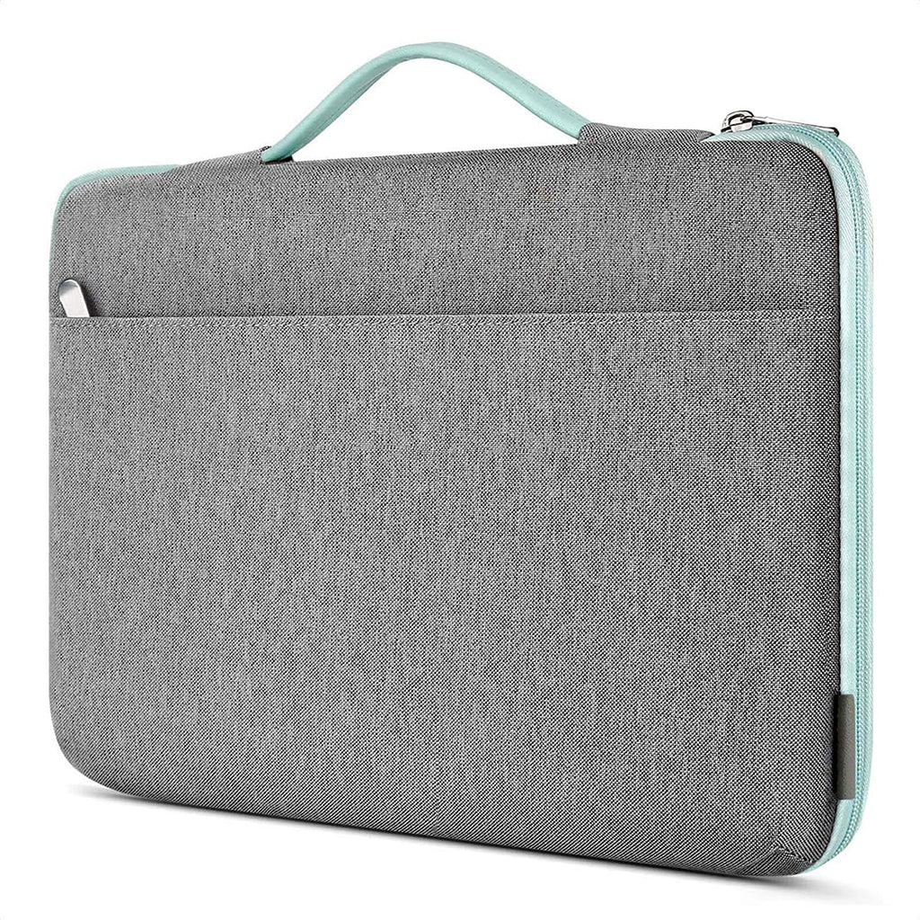 Inateck 15-15.6 Inch Shockproof Laptop Sleeve Case Briefcase Spill Resistant LB1504, Mint Green