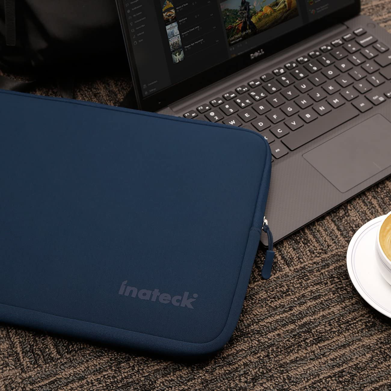 Inateck 13-13.3 Inch Water Repellent Neoprene Laptop Sleeve Tablet Bag LC1302, Blue