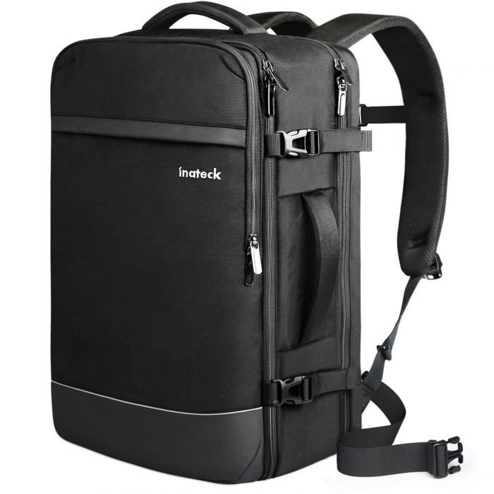 Inateck 44L 17.3 Inch Professional Carry On Travel Backpack, BP03003 Black
