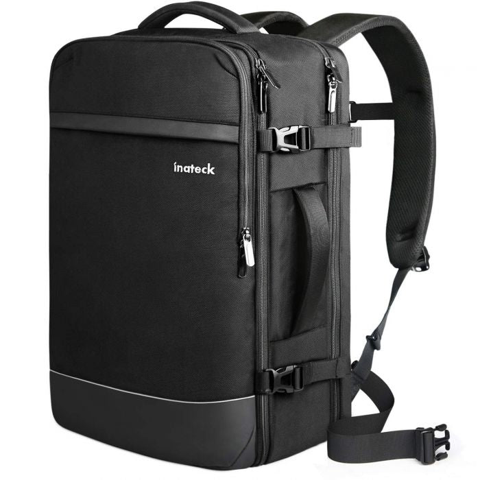 40L 17.3 Inch Professional Carry On Travel Backpack BP03003, Black - Inateck Backpacks