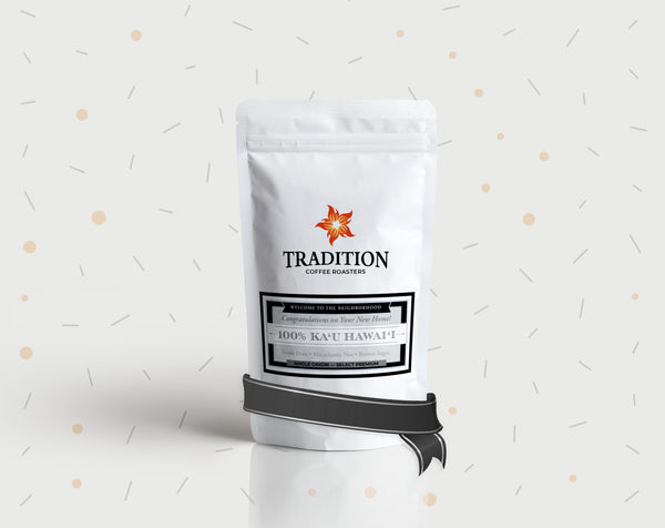 Tradition Coffee Custom Label