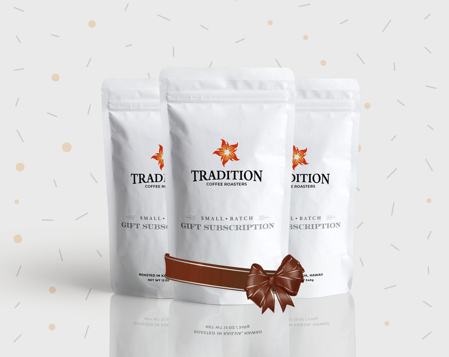 Tradition Coffee 3-Month Gift Subscription
