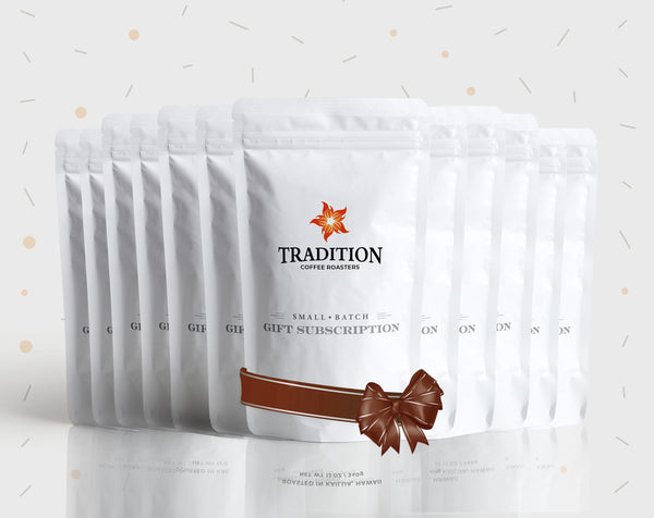 Tradition Coffee 12-Month Gift Subscription