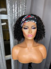 "Load image into Gallery viewer, ""KINKY CURLY Head Band"" Wigs"