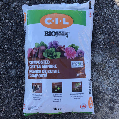 Biomax Composted Cattle Manure 15kg - Songsco.com - Ocean Nursery
