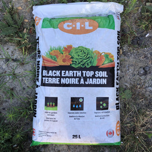Black Earth Top Soil 25L - Songsco.com - Ocean Nursery