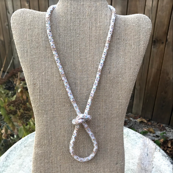 Icicles in the Sun Necklace