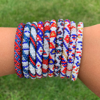 Americana Grab Bag - 10 Assorted Bracelets