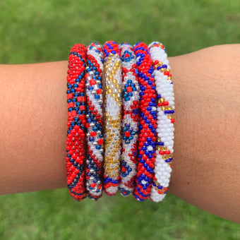 Americana Grab Bag - 6 Assorted Bracelets