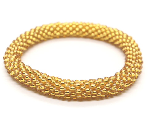 Boudha Bangle in Gold