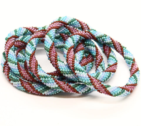 More Bead Bangles: Casablanca