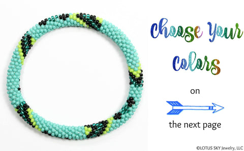 Design Your Own Beaded Nepal Bracelet #09