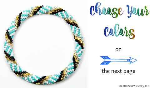 Design Your Own Beaded Nepal Bracelet #02