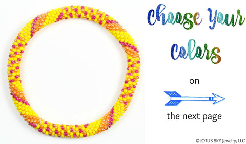 Design Your Own Beaded Nepal Bracelet #14