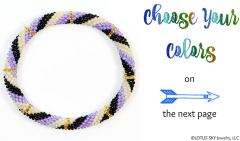 Design Your Own Beaded Nepal Bracelet #03
