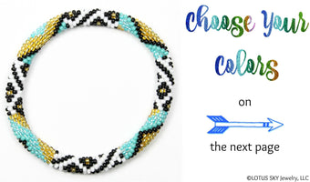 Design Your Own Beaded Nepal Bracelet #10
