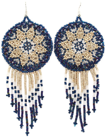 Gatherer Statement Dreamcatcher Earring
