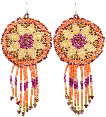 Hot to Trot Statement Dreamcatcher Earring