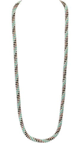 Effortless Rainbow Statement Necklace