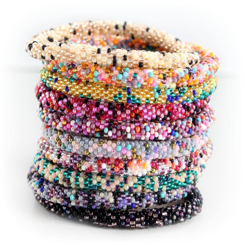 Arm Candy Confetti Bracelet Grab Bag - 6 Assorted Bracelets