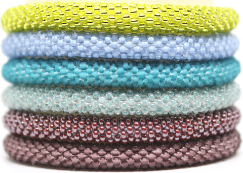 Assorted SOLIDS Grab Bag Mini - 6 Assorted Bracelets