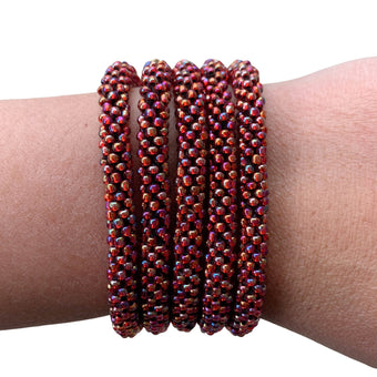 "Heart of the Fire ""Slender Stacker"" Bracelet"