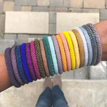 Assorted SOLIDS Grab Bag - 10 Assorted Bracelets