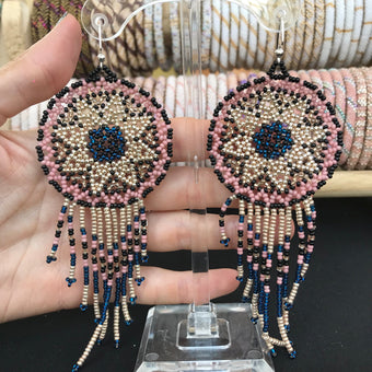 Tread with Respect Dreamcatcher Earring