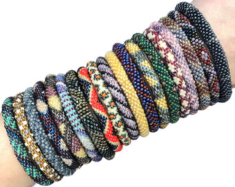 $4 Training Bracelets - Earthy Bohemian Theme