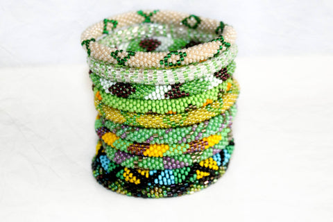 Rolling Bracelet Grab Bag - Lime, Mint, and Mohito Greens!