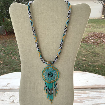 Namaste Dreamcatcher Necklace