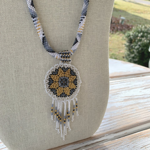 Kundalini Dreamcatcher Necklace