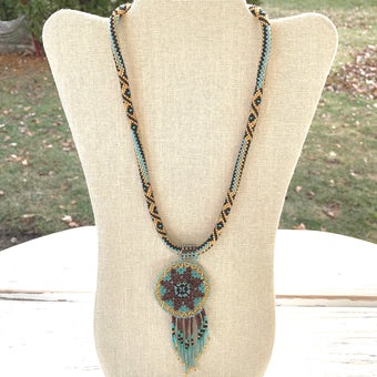 Sphynx Dreamcatcher Necklace