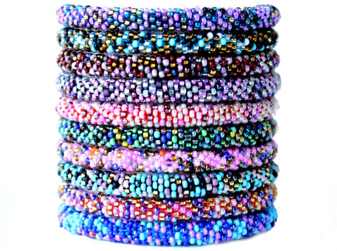 Arm Candy Confettis! Ethically Handcrafted Nepal Bracelets