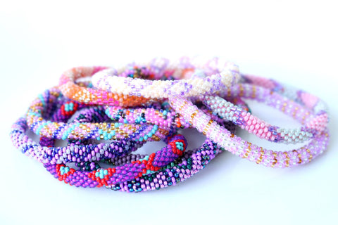 Roll On Bracelet Grab Bag - Pinks and Purples!